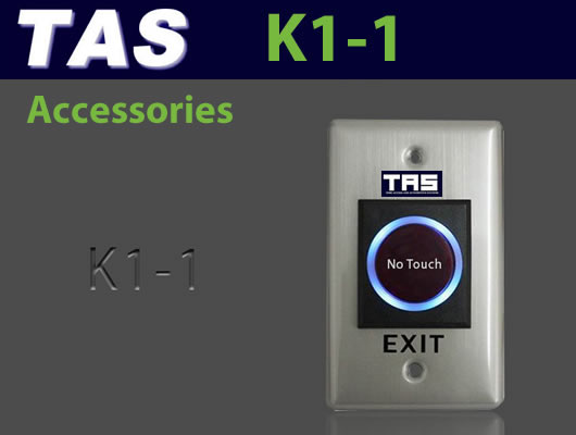 Access Control Accessories - No Touch Exit K1-1