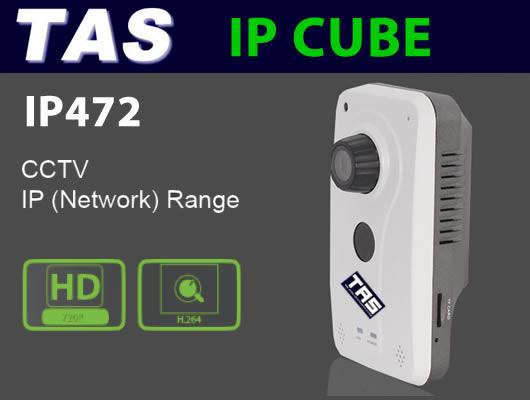 CCTV IP Cube Camera - IP472
