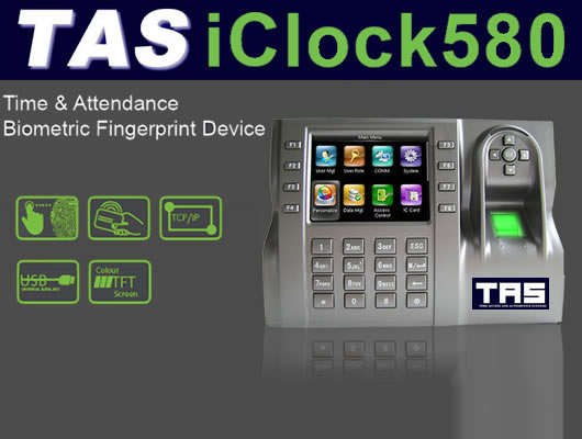 Time Attendance iclock580
