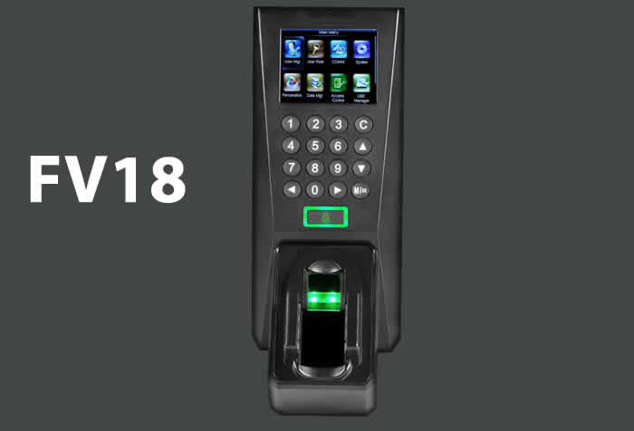 VF18 Multi-Biometric Finger Vein and Fingerprint Standalone